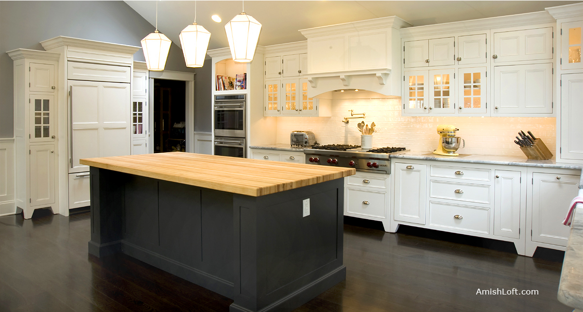 Amish Loft Cabinetry Amish Made Custom Kitchen Cabinets